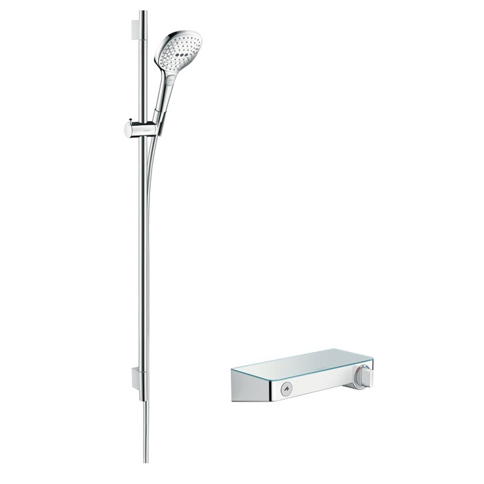 batéria sprch nást termo ShowerTablet Select 300 + set 0,90 m RAINDANCE Select E 120 3jet chróm